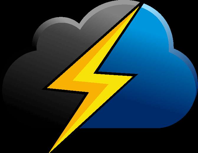 BlackStorm Just Cloud Logo