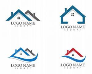 BlackStorm Roofing Graphic Logo Design Artists