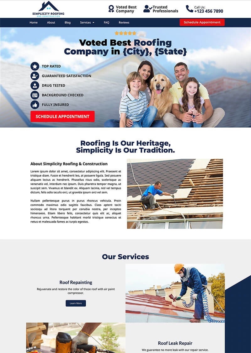 Simplicity Roofing And Constructions